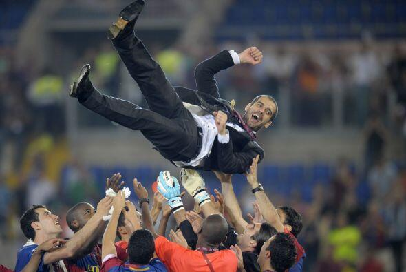 Este puñado de talentosos agradecí la gran mano de Josep Guardiola, que...
