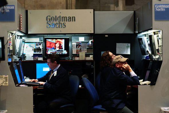 GOLDMAN SACHS  '  Situación: El banco de inversiones anunció un benefici...