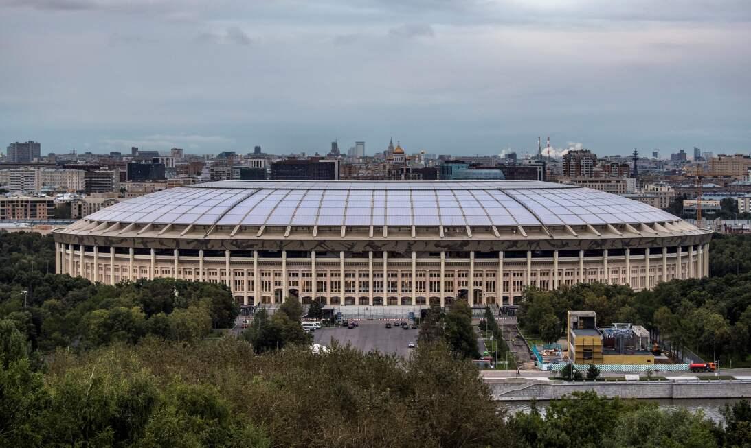 Las obras de remodelación en el Estadio Luzhniki (Moscú) ya han terminad...