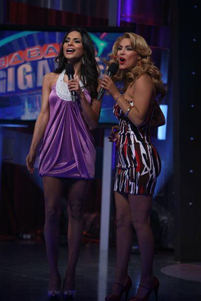 """Alejandra y Rosina, dos bellezas que semana a semana puedes ver en """"Sába..."""