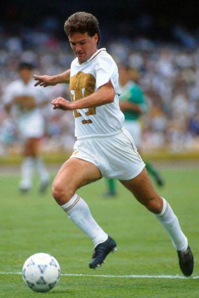 Luis García fue el hombre gol en la temporada 90-91, además del campeona...