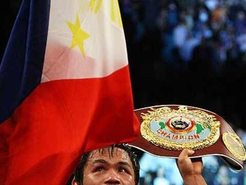 """El filipino Manny Pacquiao recibió el nombramiento de """"Boxea..."""