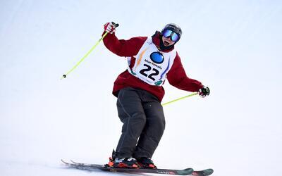 Participará este domingo en la prueba de esquí slopestyle.