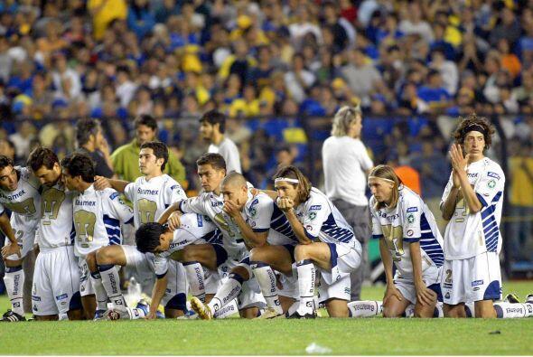 Aunque no ganó ninguno de los dos, en el 2005 Pumas alcanzó la final de...