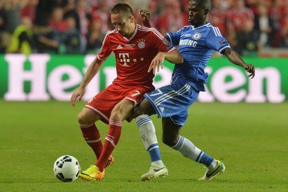 El Bayern Munich tuvo que llegar a la ronda de penales para vencer al Ch...