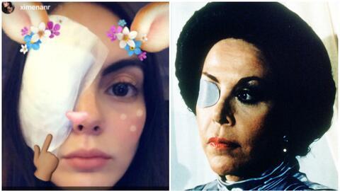 Ximena Navarrete, que protagonizó la telenovela 'La tempestad', l...