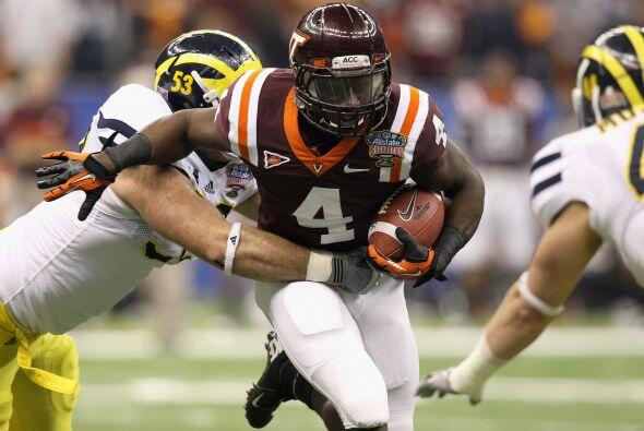 "3. David Wilson - Virginia Tech - Edad 20 años - Estatura 1.78 m (5'11"")..."