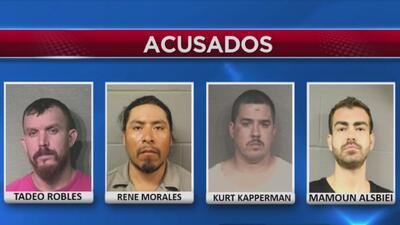 Operativo encubierto de tres días conduce al arresto de 13 personas bajo cargos de delitos sexuales