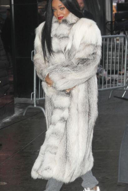 Este peculiar abrigo ya se lo habíamos vista antes a nuestra quer...