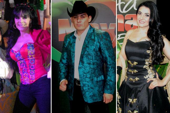 Así celebraron las estrellas la Fiesta Mexicana 2015.