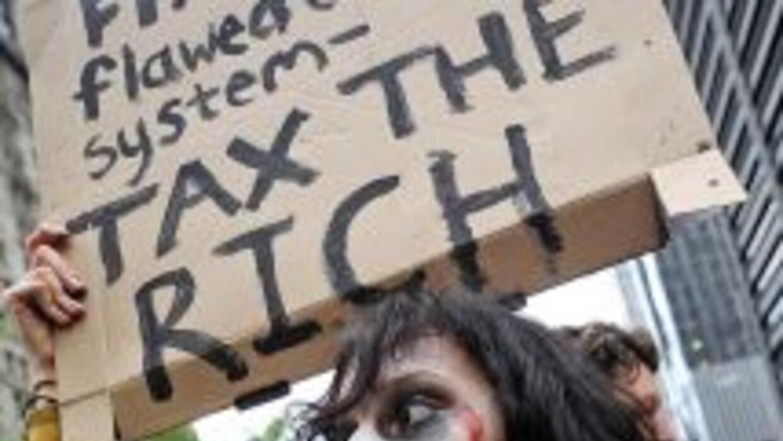 Los manifestantes de Wall Street aún no cuentan con un liderazgo visible.