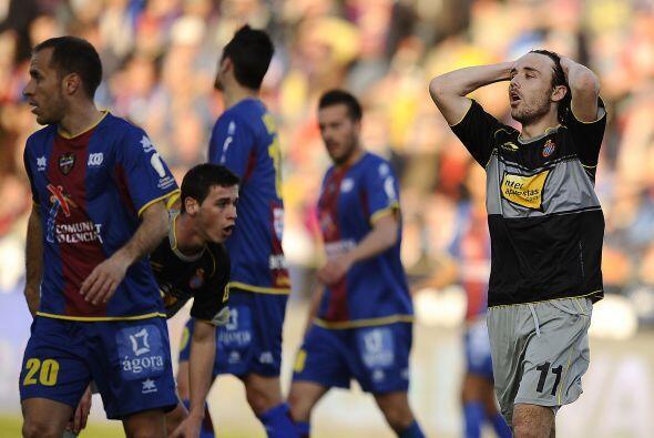 Mientras tanto, el Espanyol no salió de zona de Liga Europa aunque se es...