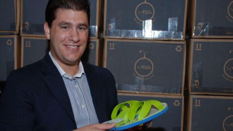 José Alejandro Flores, founder of DeFlores, International, manufactures...