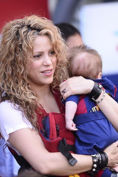 Shakira ya pasea al lindo Sasha.