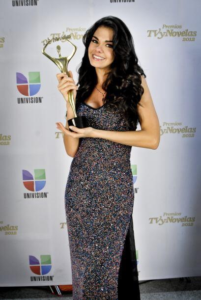 Livia Brito se quedó con el premios por Mejor Actriz Juvenil en T...