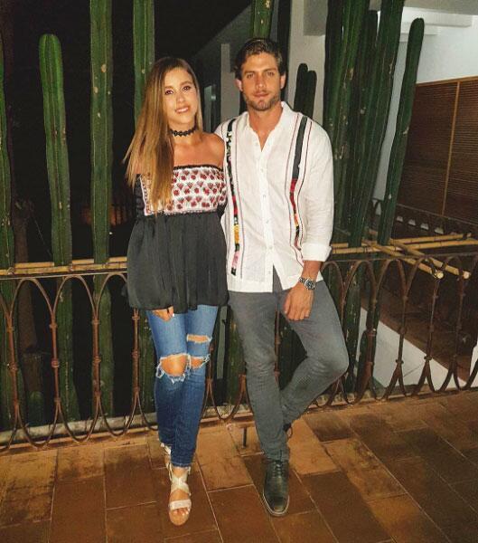 Horacio Pancheri y Paulina Goto