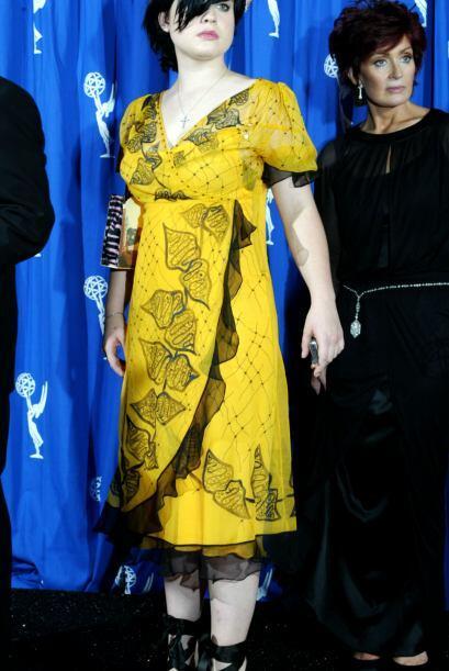 Qué bueno que ahora Kelly Osbourne es toda una fashionista, porque en 20...