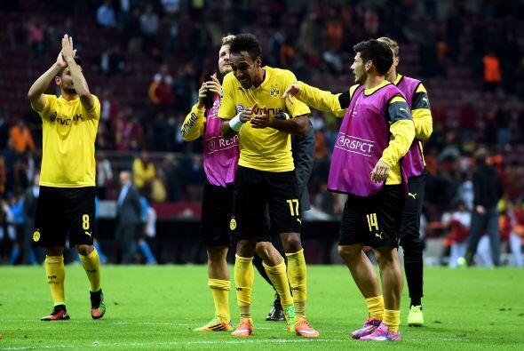 Borussia Dortmund mostró otra cara en la Campions League, y gole&...
