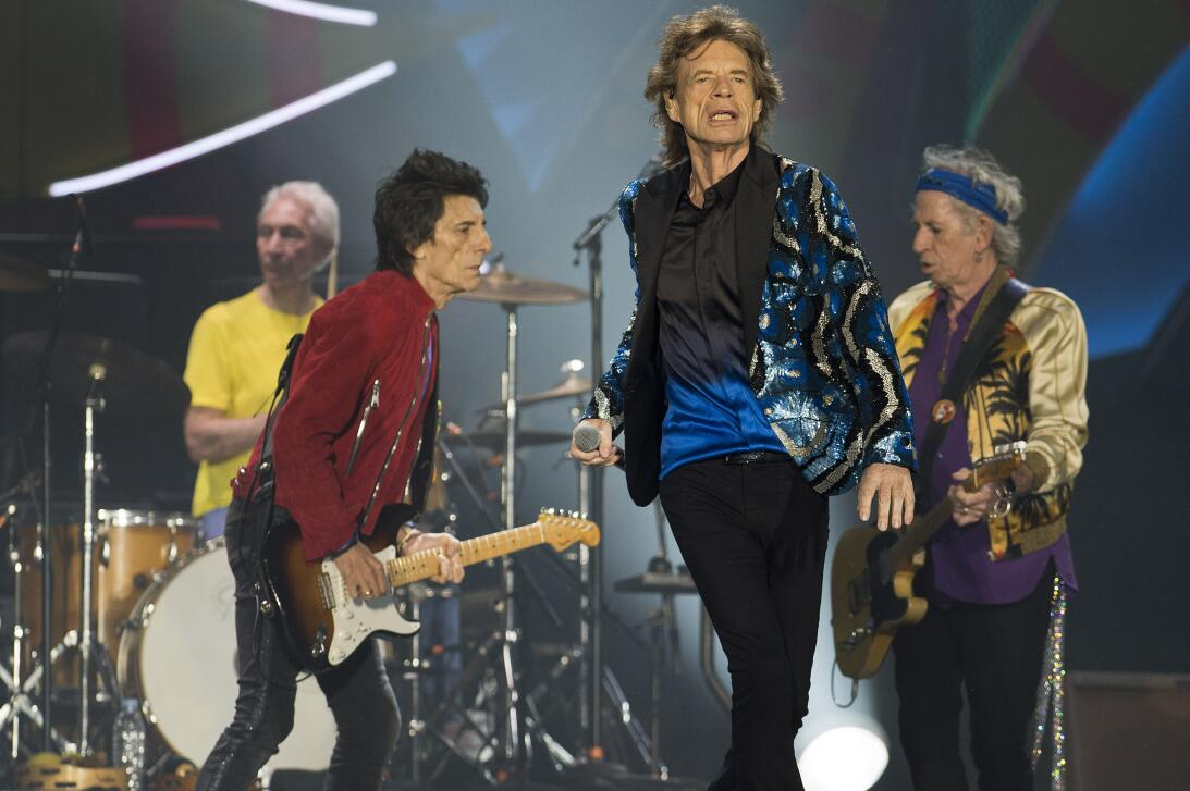 The Rolling Stones became the first rock band to play a massive free out...