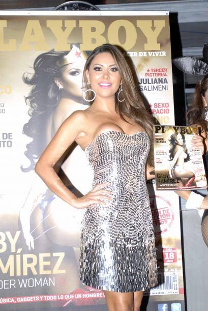 """Gaby Ramírez se convirtió en la mujer maravilla en """"P..."""