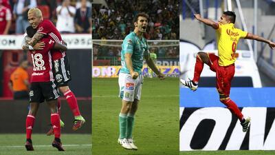 Top 10 de los actuales goleadores de la Liga MX