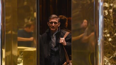 El general Michael Flynn fue elegido por Trump como asesor de la Casa Bl...