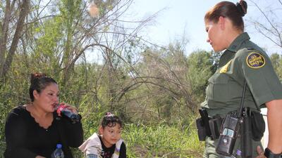 In photos: The Border Patrol stops migrants crossing the Rio Grande