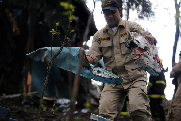 El accidente de una avioneta de la aerolínea Central American Air...