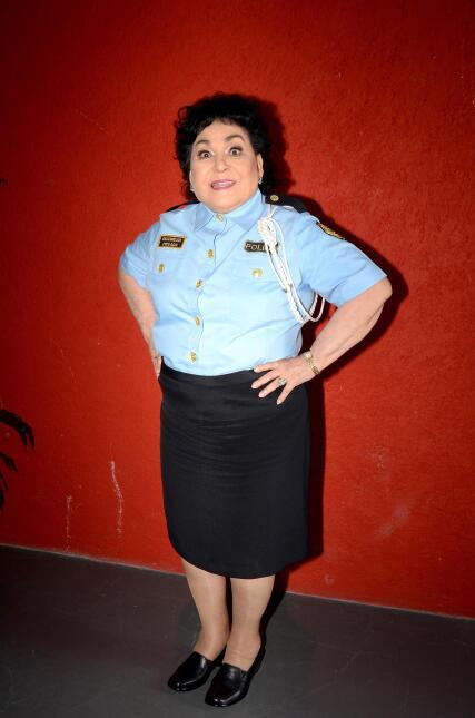 Hasta Carmelita Salinas estuvo en la filmación.