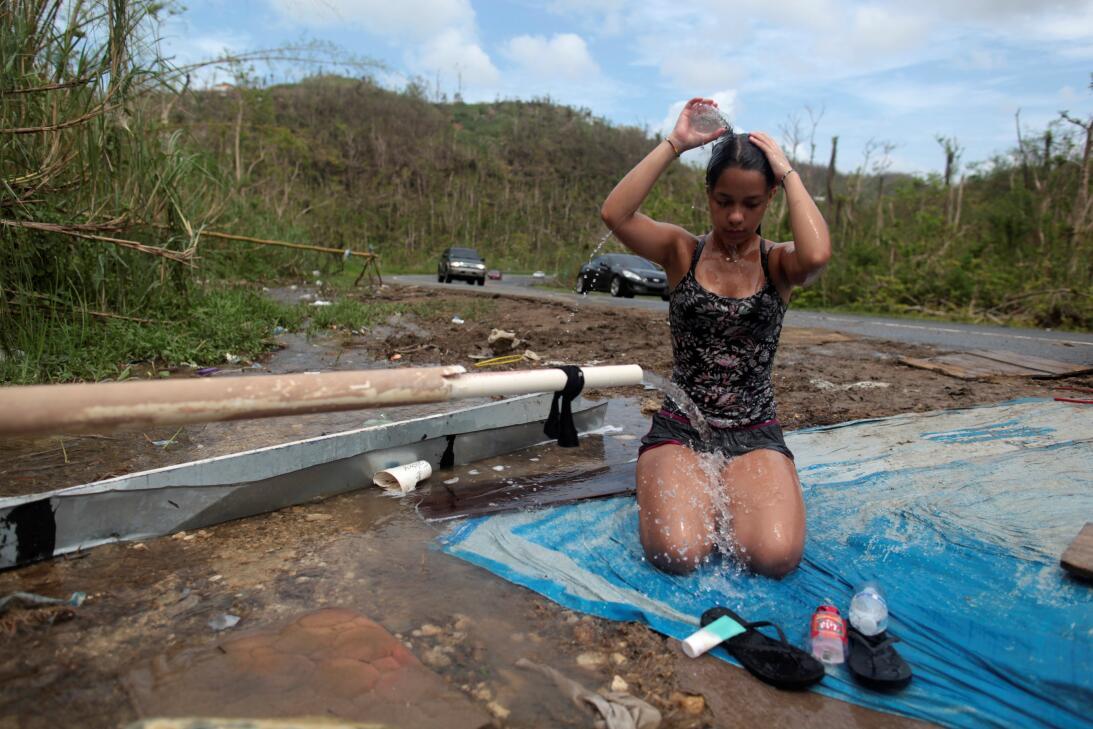 A un mes María en Puerto Rico