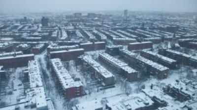 Las tormentas de nieve que paralizan ciudades enteras de Estados Unidos...