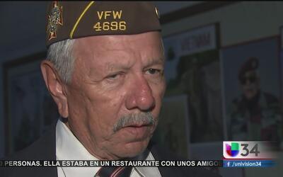 Veteranos hispanos reaccionan al triunfo de Trump