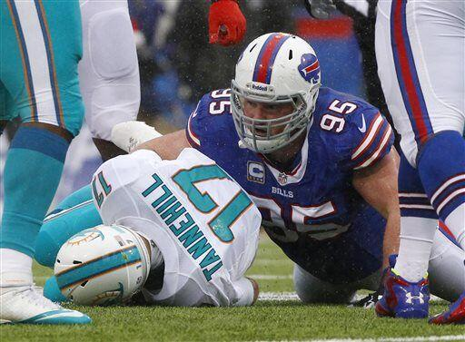 Kyle Williams, tackle defensivo de los Buffalo Bills (AP-NFL).