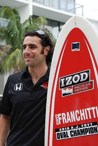 Franchitti, actual campeón del Indianapolis 500, está en búsqueda del ca...