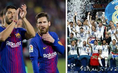 Merenges reciben felciitación de Blaugranas tras conquistar su tr...