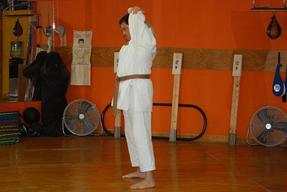 Jorge lleva varios años practicando en este lugar de la ciudad de Miami.
