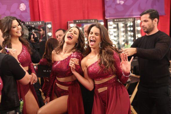 Las ex reinas se la pasaron bomba. Entre risas y bromas, lograron crear...