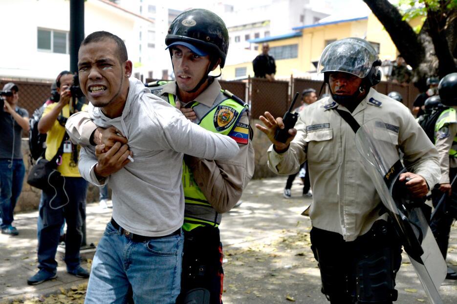 Protestas en caracas Frederick Pinto