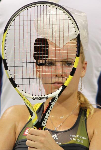 Caroline Wozniacki nunca ha vencido a Clijsters, a Justine Henin, ni a V...