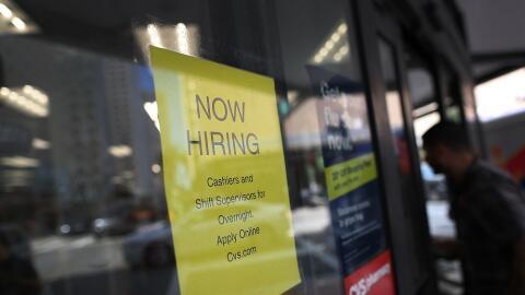 Estados Unidos creó 222.000 empleos en el mes de junio.