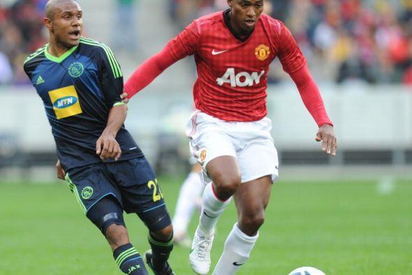 El ecuatoriano Antonio Valencia volvió a ser fundamental en el ataque.