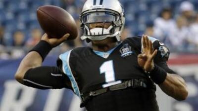 Cam Newton. (AP-NFL).