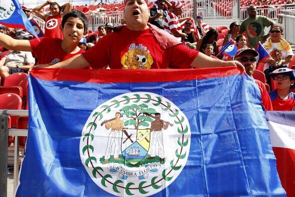 Los de Belice dejaron una buena imagen en la Copa Oro.
