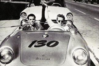 "James Dean y su Porsche 550 Spyder ""Little Bastard"""