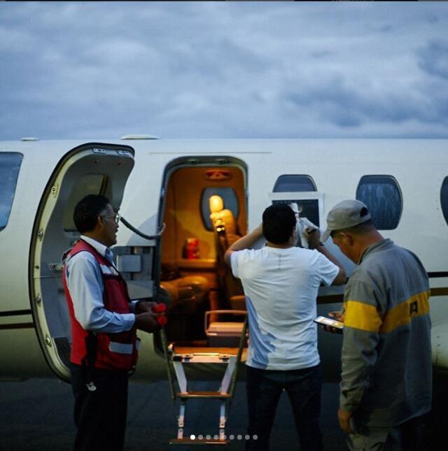 Julión y su avión privado