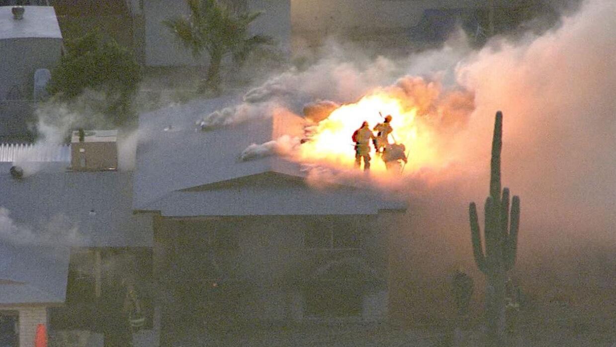 Tiroteo e incendio Phoenix