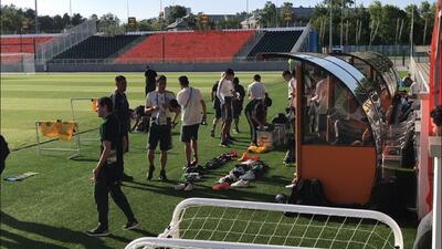 Así es la práctica de México previo a su duelo por la clasificación contra Suecia