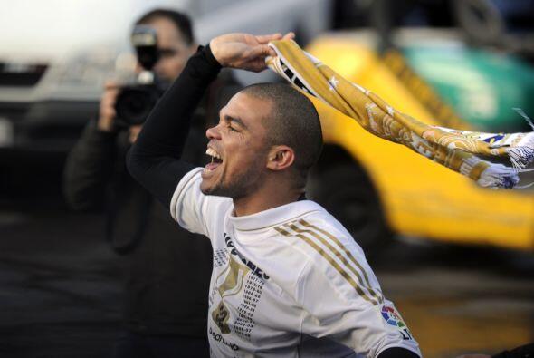 Pepe, más allá de que muchas veces es tan criticado, parecía un niño fes...