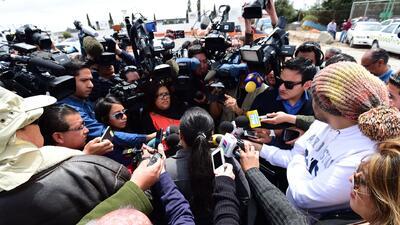 """Las hermanas de """"El Chapo"""" protestaron en el penal del Altiplano"""