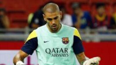 El portero del Barcelona sigue mostrando su solidaridad con Casillas ant...
